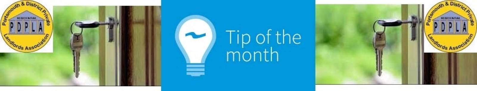 Landlord Tip Of The Month - April